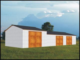 Projekt Garaż Na Maszyny Rolnicze Ze Stanowiskiem Na Kombajn Www