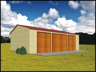 Projekt Garaż Na Maszyny Rolnicze Lub Budynek Gospodarczy Www